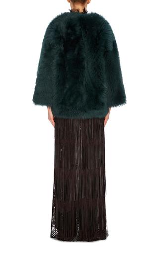 Fur Bomber  by ROCHAS Now Available on Moda Operandi