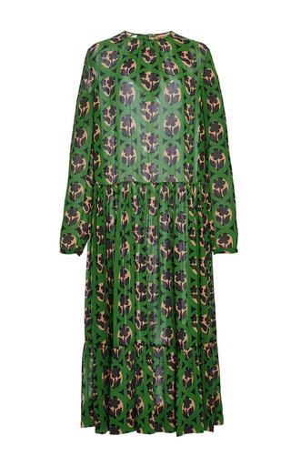 Medium no 21 print silk printed dress