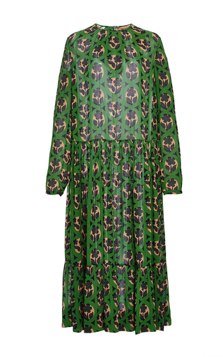 Medium no 21 print silk printed dress