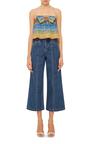 Loulou Crop Denim Jean by SALONI Now Available on Moda Operandi