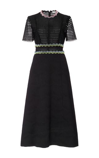 Medium mary katrantzou black bronzite midi dress
