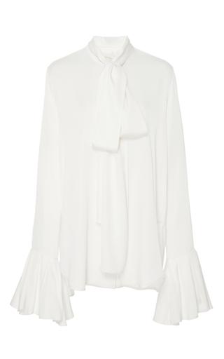 Medium ellery ivory little me ruffle sleeve blouse