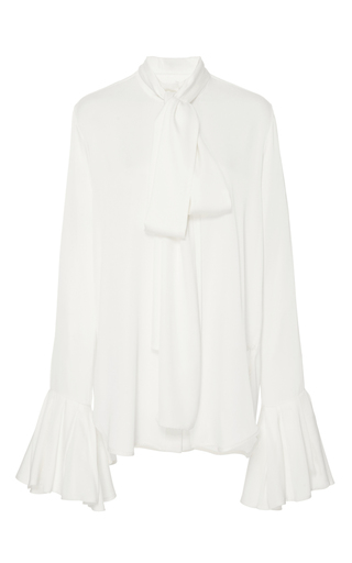 Medium ellery ivory little me ruffle sleeve blouse