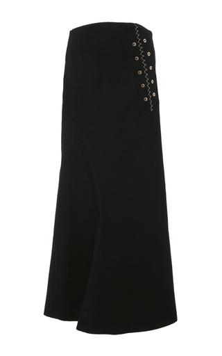 Medium ellery black rubinstein a line skirt