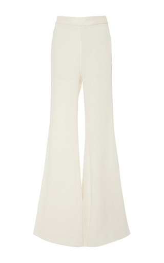 Medium ellery ivory hot honey flared pant