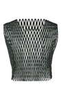 Weaver Fishnet Crop Top by ELLERY Now Available on Moda Operandi
