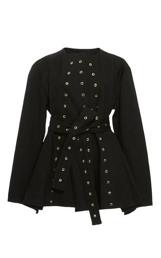 Medium ellery black femme eyelet jacket
