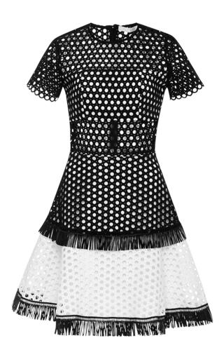 Medium alexis black white cinthia mini dress