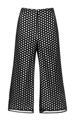 Medium alexis black collie embroidered pant