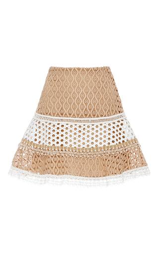 Medium alexis tan larissa flared skirt