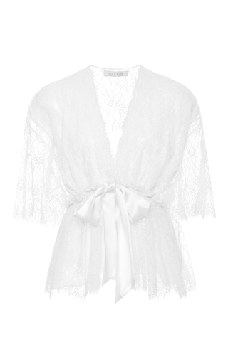 Medium alexis off white adriana lace top