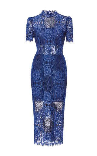 Medium alexis blue delila lace dress