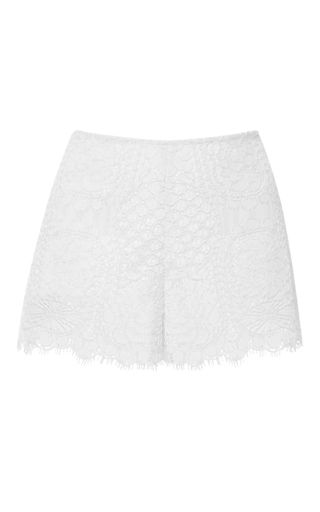 Medium alexis ivory ivory gigi lace shorts