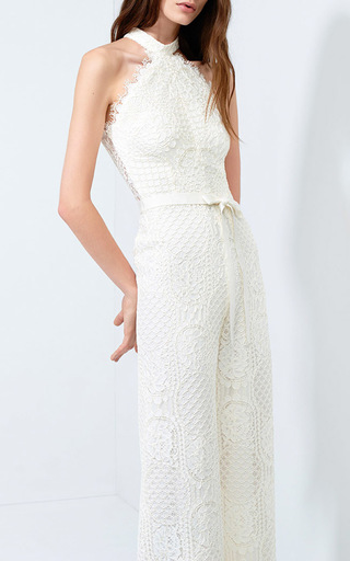 Maylina Lace Jumpsuit by ALEXIS Now Available on Moda Operandi