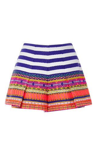 Medium alexis pink karly pleated shorts