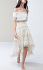 Belle Asymmetric Skirt by ALEXIS Now Available on Moda Operandi