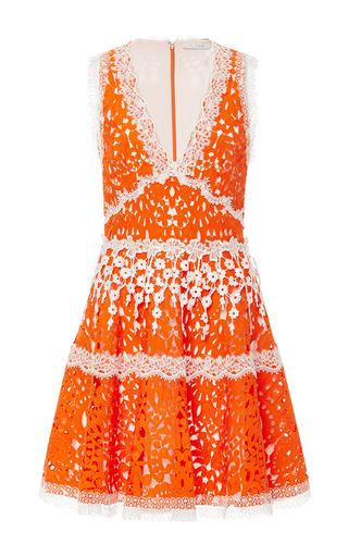 Medium alexis orange bridget floral minidress