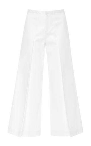Medium alexis white chrissy pleated pant