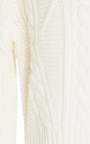 Cable Knit Pullover by CARVEN Now Available on Moda Operandi