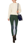 Lurex Patched Slim Pant by CARVEN Now Available on Moda Operandi
