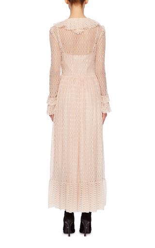 Ruffled Lace Dress by PHILOSOPHY DI LORENZO SERAFINI Now Available on Moda Operandi