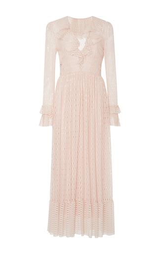 Medium philosophy di lorenzo serafini pink ruffled lace dress