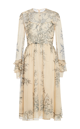 Medium philosophy di lorenzo serafini ivory ivory tropical chiffon dress