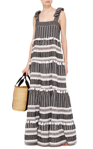 Amal Sleeveless Maxi Dress by DODO BAR OR Now Available on Moda Operandi