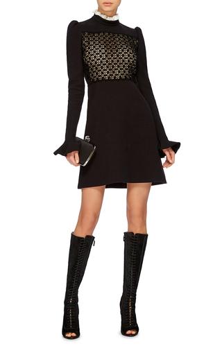 Lace Up Knee High Boots by GIAMBATTISTA VALLI Now Available on Moda Operandi