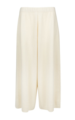 Medium pringle of scotland off white off white cashmere merino wool culottes