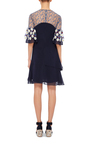 Silk Embroidered Mini Dress by PETER PILOTTO Now Available on Moda Operandi