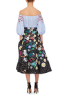 Printed Plissé Skirt by PETER PILOTTO Now Available on Moda Operandi