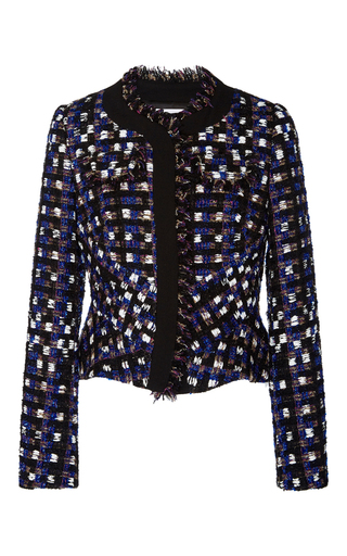 Medium peter pilotto multi tweed jacket