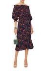 Grace Off The Shoulder Midi Dress by SALONI Now Available on Moda Operandi