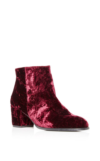 Medium carmelinas burgundy ana bootie in burgundy