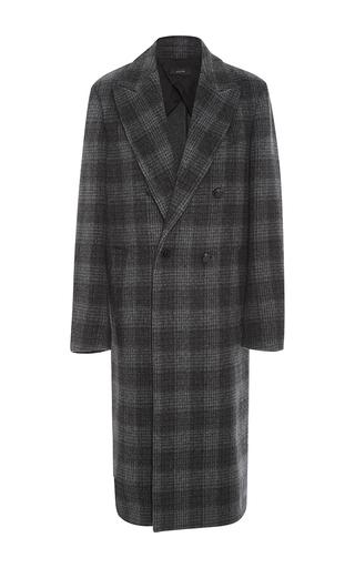 Medium joseph plaid osborne double breasted coat