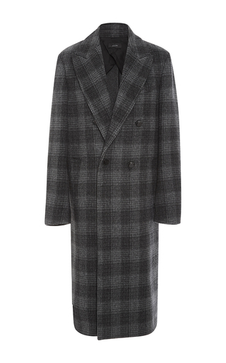 Medium joseph plaid osborne double breasted coat
