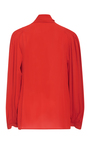 Bill Neck Tie Blouse by JOSEPH Now Available on Moda Operandi