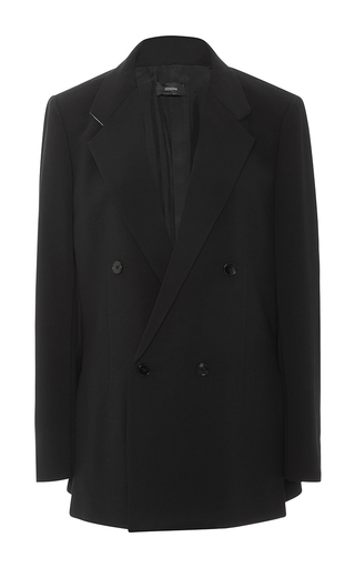 Medium joseph black bailey double breasted blazer