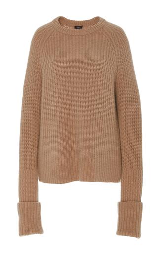 Medium joseph tan pearl ribbed sweater