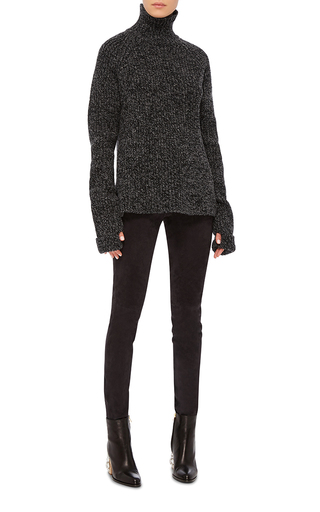 Suede Slim Fit Pants by JOSEPH Now Available on Moda Operandi