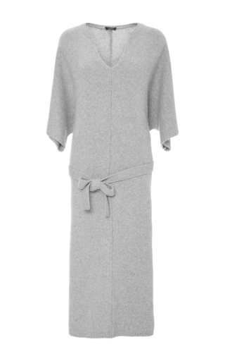 Medium joseph light grey felicie sweater dress