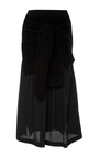Long Sleeve Midi Skirt by JOSEPH Now Available on Moda Operandi
