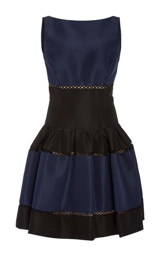 Medium carolina herrera multi striped mini dress