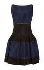 Striped Mini Dress by CAROLINA HERRERA Now Available on Moda Operandi
