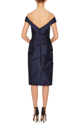 Off The Shoulder Dress by MONIQUE LHUILLIER Now Available on Moda Operandi