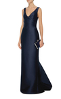 Draped Column Gown by MONIQUE LHUILLIER Now Available on Moda Operandi