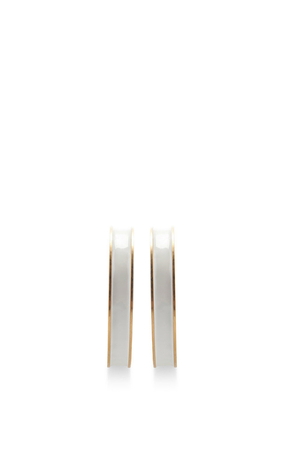 Medium marni white lily white hoops
