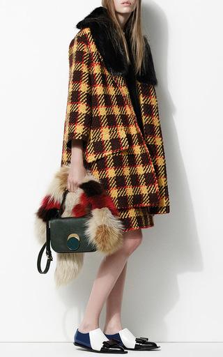 Tea Green Shoulder Bag by MARNI Now Available on Moda Operandi