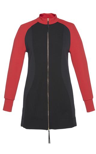 Medium marni black technical rib jersey sweatshirt